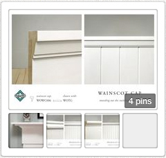 Open wainscot caps pin board in new tab
