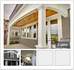 Open porches pin board in new tab