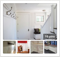 Open wainscoting pin board in new tab