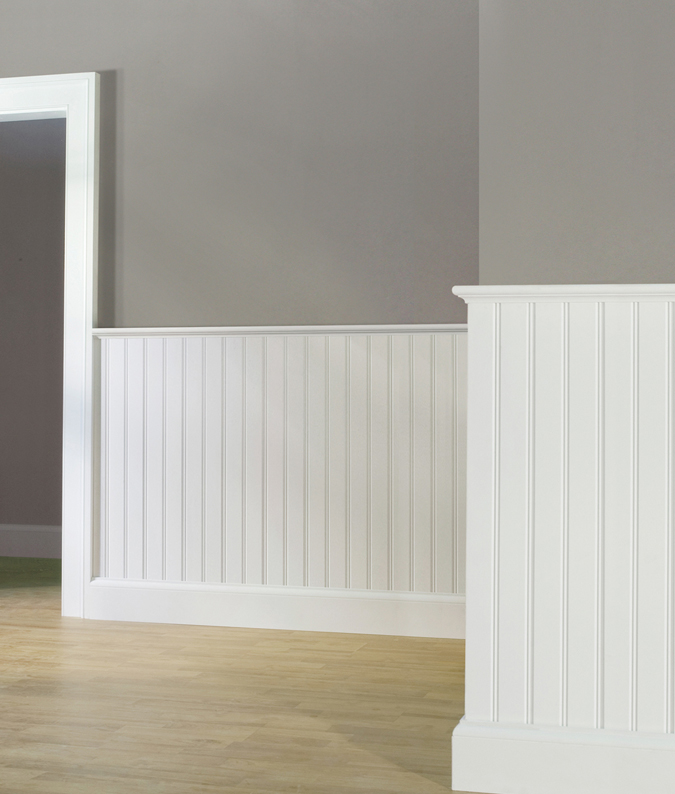 Wainscot Caps & Federal Panel Molding By WindsorONE